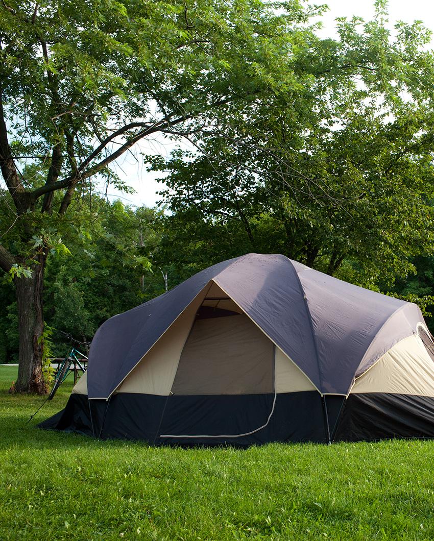 Tienda en Camping